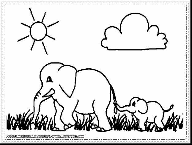 Incredible Elephant Coloring Pages With Elephant Coloring Pages And Elephant  Coloring Pages For Adults