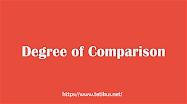 pengertian dan contoh degree of comparison