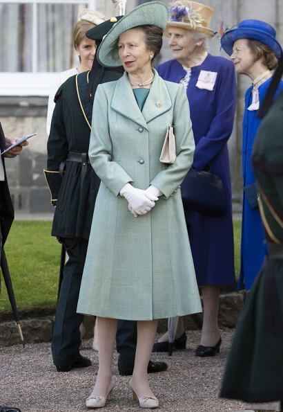 Queen Elizabeth II, Princess Anne, Prince Andrew and Prince Edward attended the Garden Party in Edinburgh