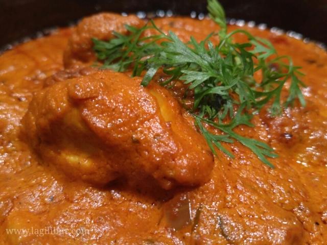 Chicken Tikka Masala Epice Restaurant