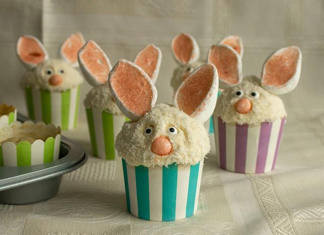Cupcakes De Vainilla Para Pascua