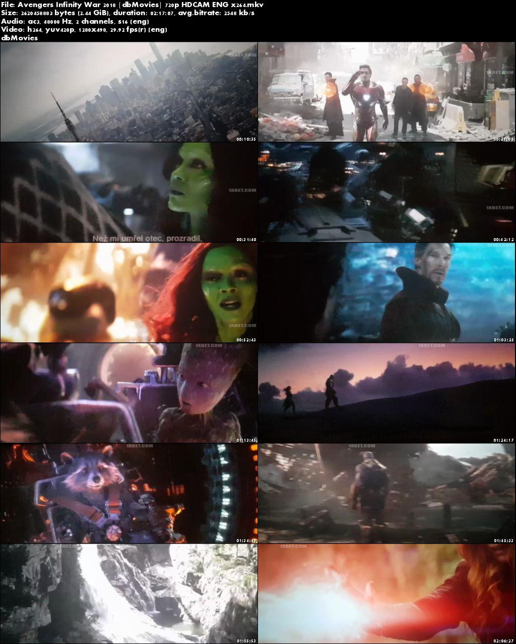 Avengers infinity war dual audio full movie download