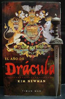 Portada del libro La era de Drácula, de Kim Newman