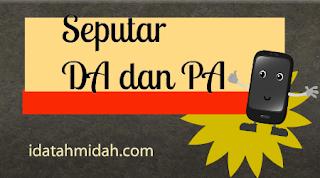 DA dan PA