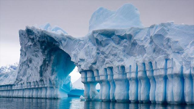 Científicos hallan 'un nuevo mundo' bajo el hielo de la Antártida