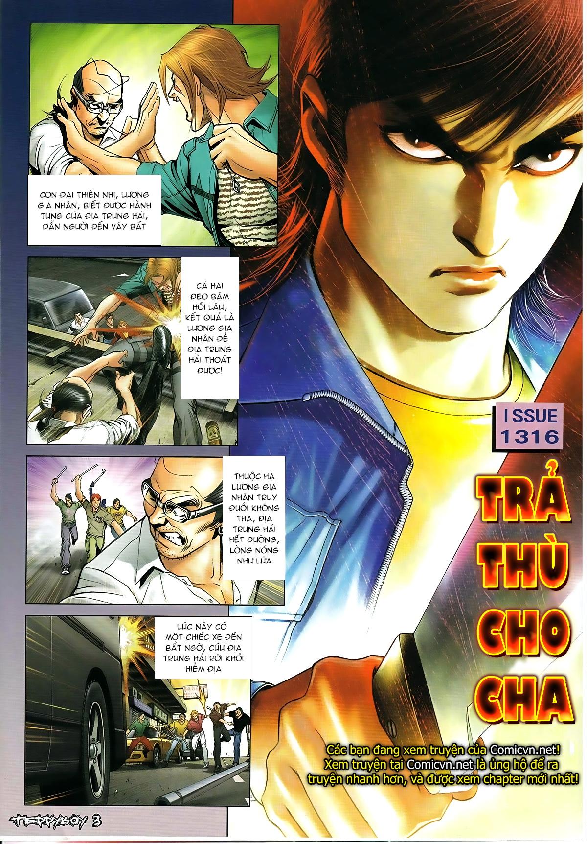 Người Trong Giang Hồ - Chapter 1316: Trả thù cho Cha - Pic 3