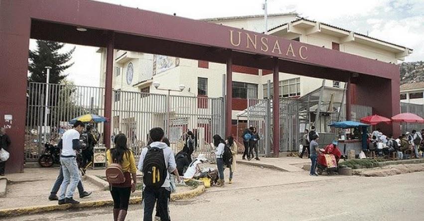 UNSAAC: Universidad Nacional de San Antonio Abad del Cusco desactiva los vicedecanatos