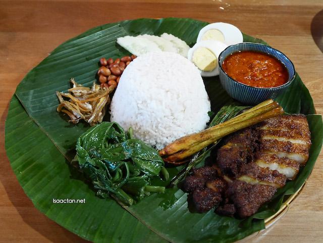Porky Fat Rice (RM20.00)
