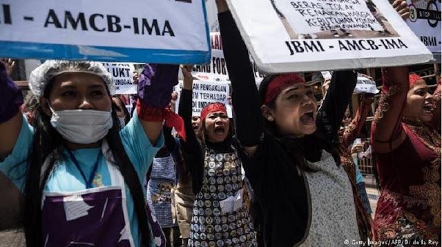 Hotel Tempat Jokowi Menginap di Hong Kong Jadi Sasaran Aksi Demo TKI yang Kecewa