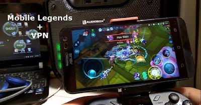 Cara Bermain Mobile Legends Menggunakan SuperVPN