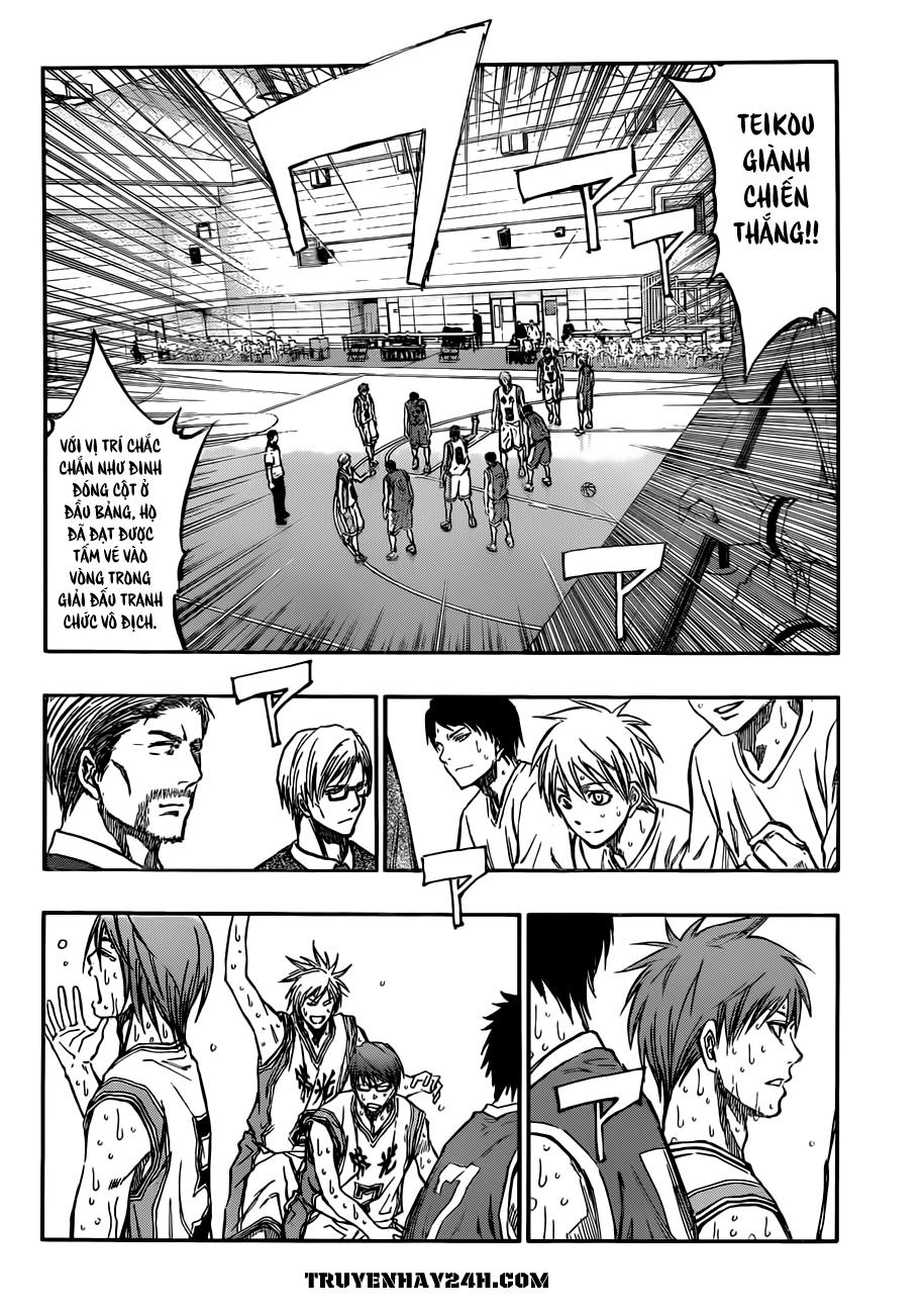 Kuroko No Basket chap 214 trang 16