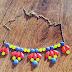 DIY neónový náhrdelník!
