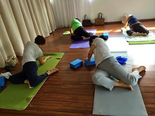 yoga plus yin yoga class 12/nov