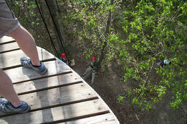 Zip Line at Shenandoah River State Park