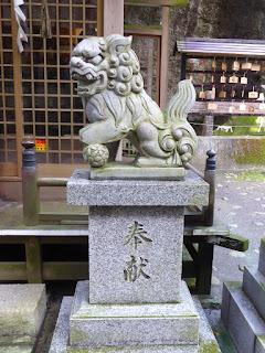 磐船神社 狛犬