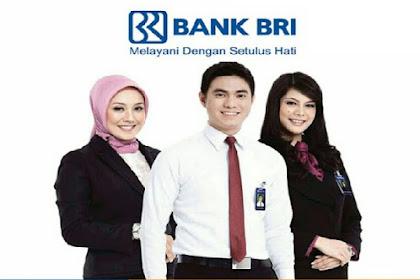 Pendaftaran Penerimaan Karyawan Baru PT. Bank Rakyat Indonesia (Persero) Tbk, Batas Penerimaan 5 Januari 2019