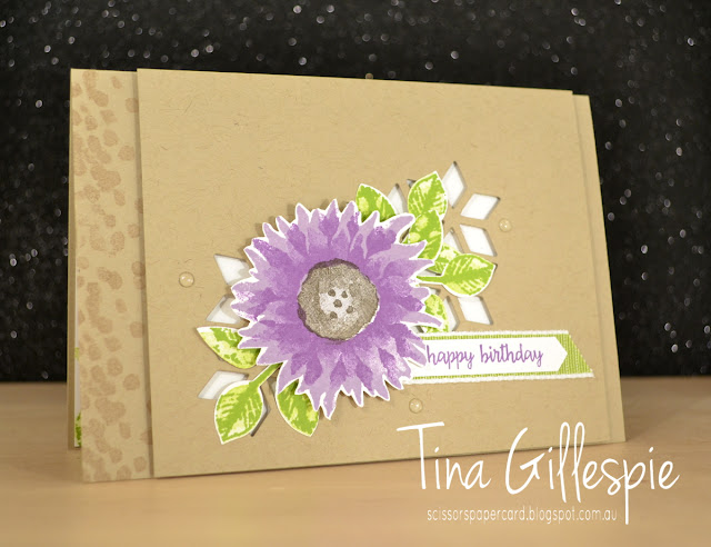 scissorspapercard, Stampin' Up!, Art With Heart, Painted Harvest, Happy Birthday Gorgeous, Dragonfly Dream, Eclectic Layers Thinlits
