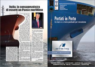 DICEMBRE 2018 PAG. 12 - Italia, la consapevolezza di essere un Paese marittimo