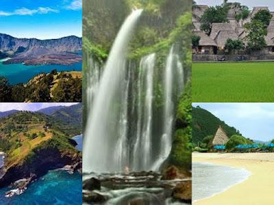 destinasi wisata menarik di lombok