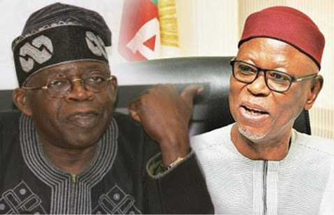 APC Crises: Oyegun Pledges To Back Tinubu
