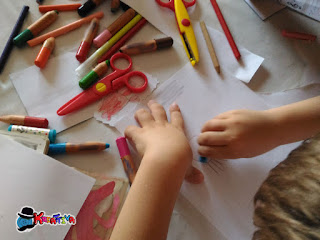 disegnare con bambini