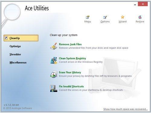 تحميل برنامج تسريع وصيانة الويندوز Ace Utilities 6.3