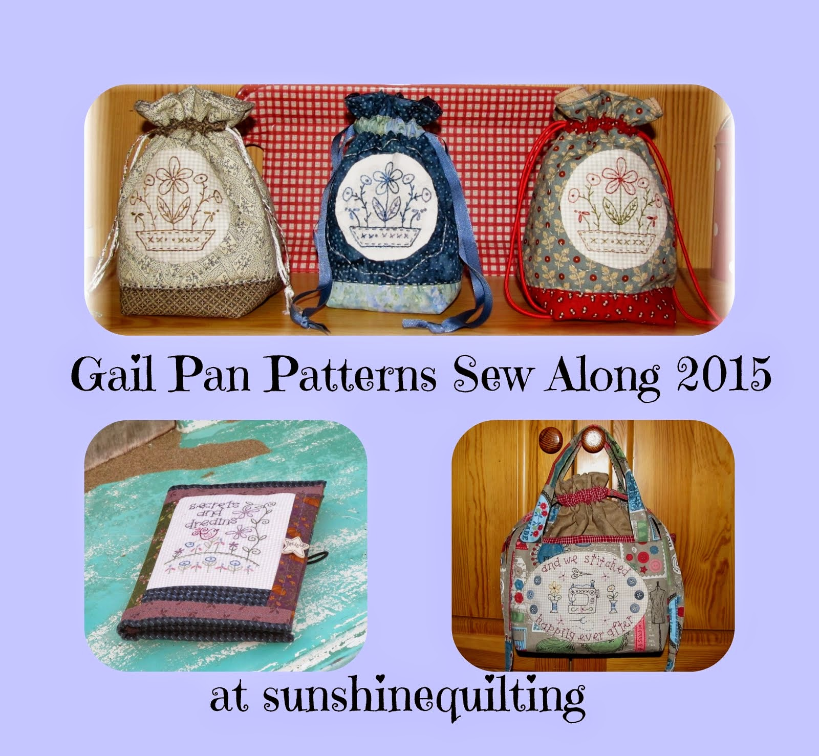 Gail Pan Patterns Sew Along 2015