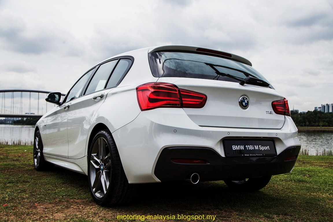motoring malaysia bmw 118i m sport and bmw 330e m sport. Black Bedroom Furniture Sets. Home Design Ideas