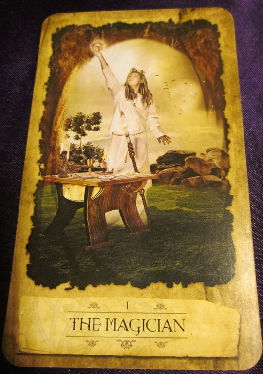 Tarot Readings By Wendy: The Magician-Mystic Dreamer Tarot