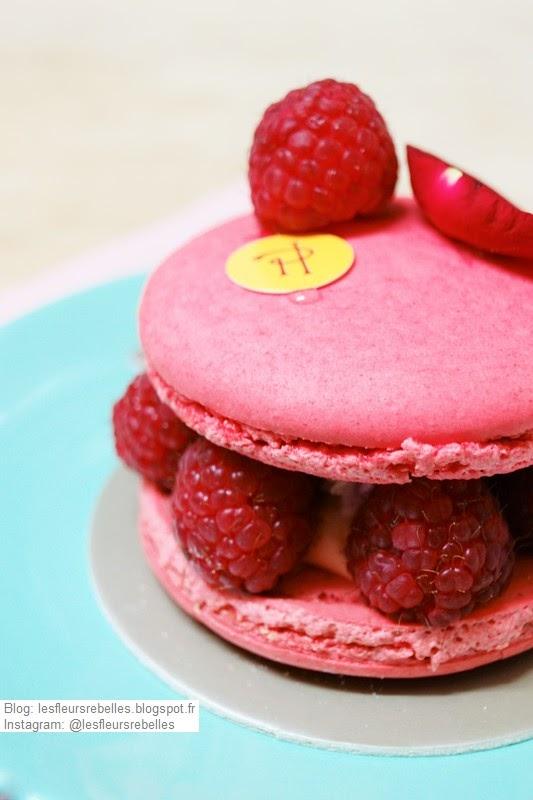Macaron Ispahan framboise, letchi et rose