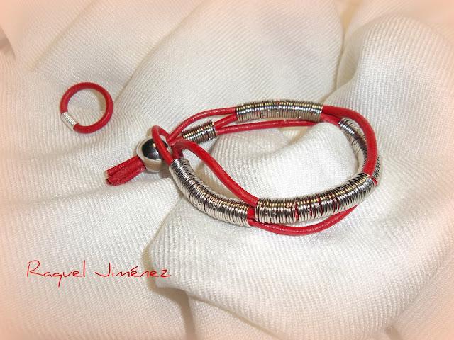 pulsera y  anillo