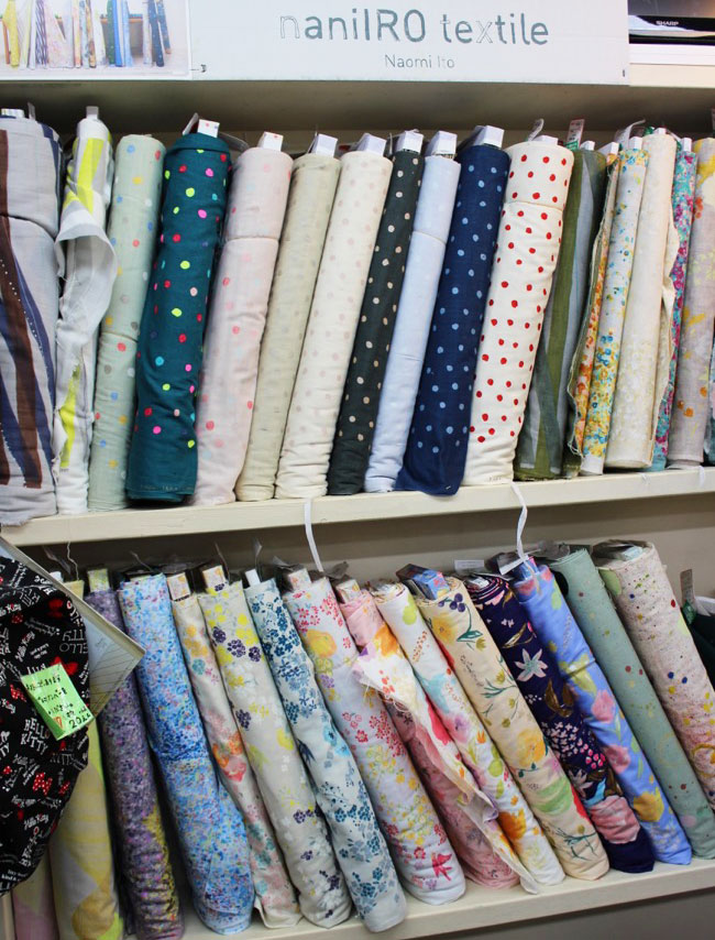 Fabric shopping in Japan - Tilly and the Buttons
