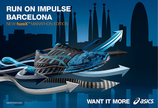 fuzeX  Barcelona Marathon Limited Edition