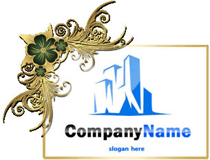 تحميل تصميم شعار مجموعة مباني أزرق اللون مفتوح, buildings Group psd  logo design download