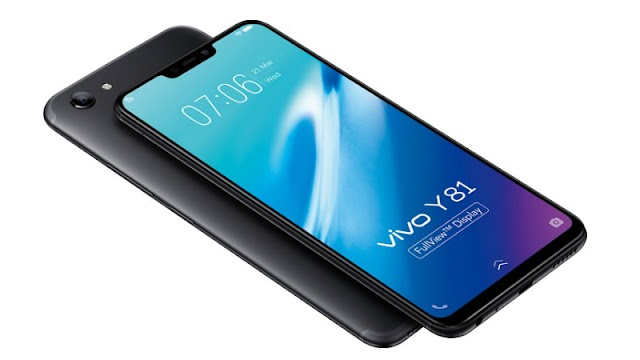 Vivo Officially lunches Y81 Smartphone with Excellent Look and Features