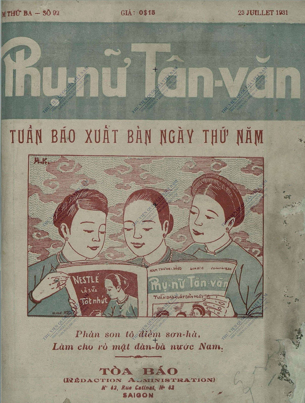 Báo Phụ Nữ Tân Văn