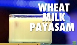 Wheat Milk Payasam Recipe | Godhumai Paal Payasam Recipe | Puthuyugam Recipes