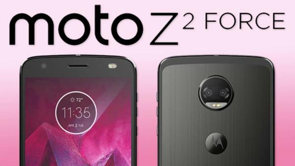 لينوفو تكشف عن هاتفها الذكي الجديد Moto Z2 Force