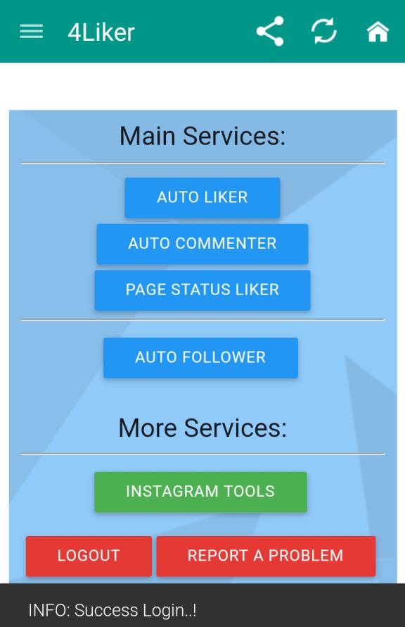 Download 4liker | Facebook Auto Liker | 4Liker APK APP - AA TECH