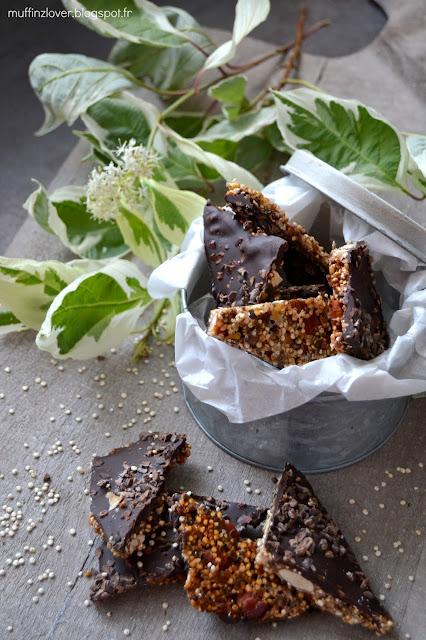 Recette facile écorce de chocolat aux super aliments - muffinzlover.blogspot.fr
