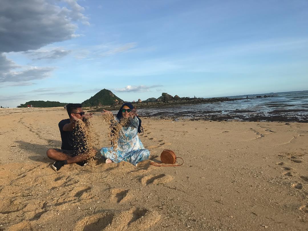 Destinasi Pantai Kuta Lombok