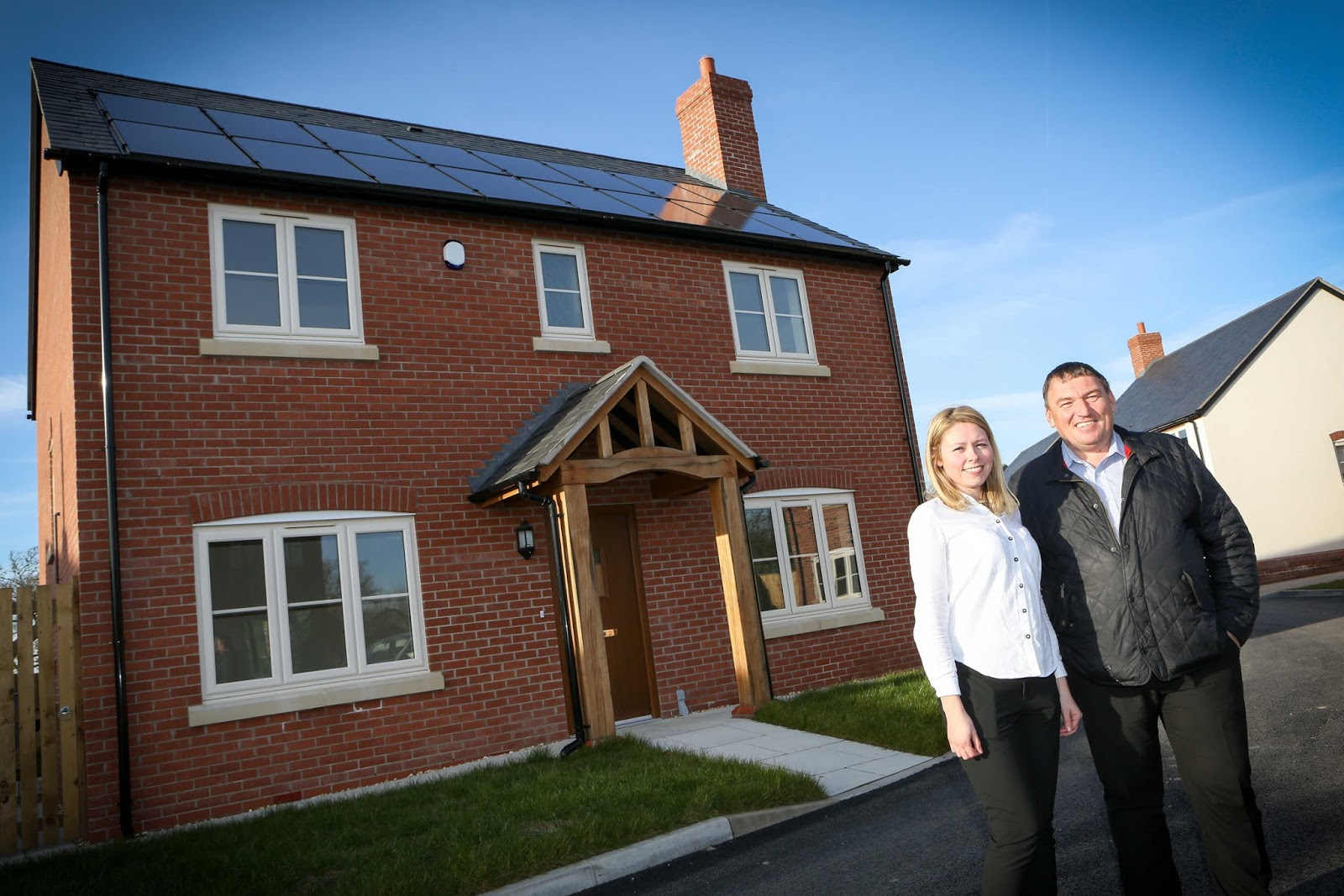 eco house highlights benefits of renewable energy systems in new