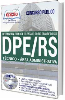 Apostila PDE-RS 2017 Técnico - Área Administrativa