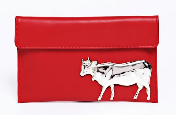 Vincent Billeci - Fall Winter 2013/2014 - Red Cow bag
