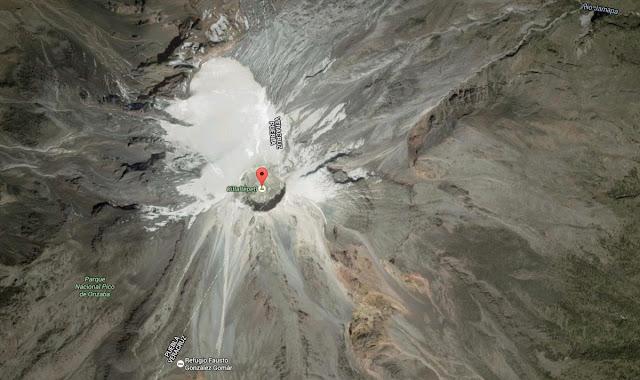 Lodowiec kraterowy Orizaba