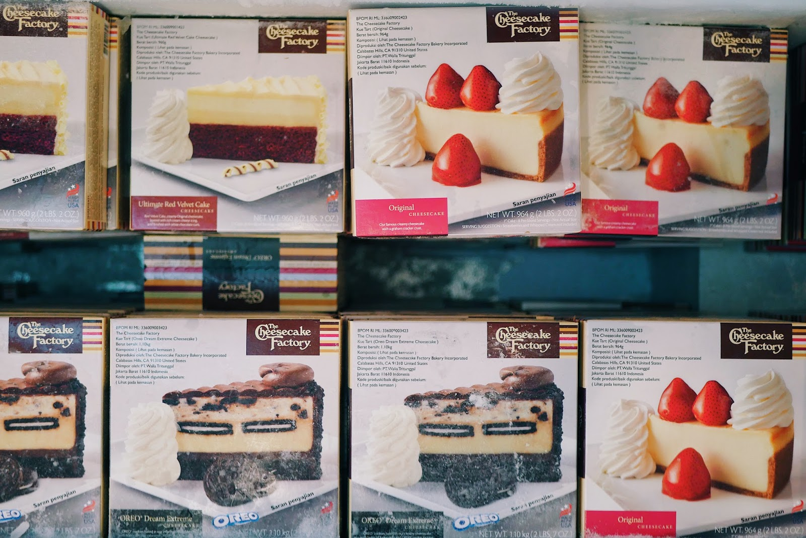 Cheese And Cake Factory Jakarta