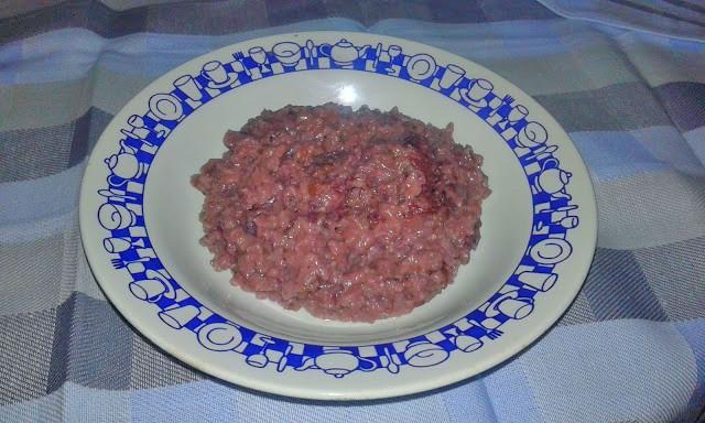 red cabbage risotto recipe