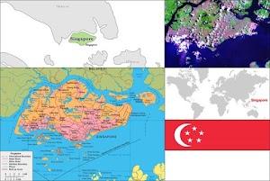 Profil dan Peta Negara Singapura