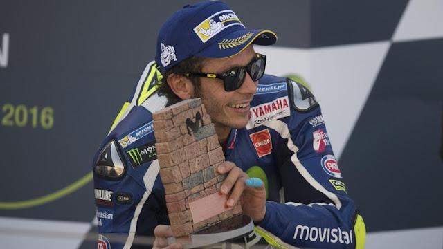 Rossi Akui Makin Sulit Rebut Gelar Juara Dunia Tahun Ini