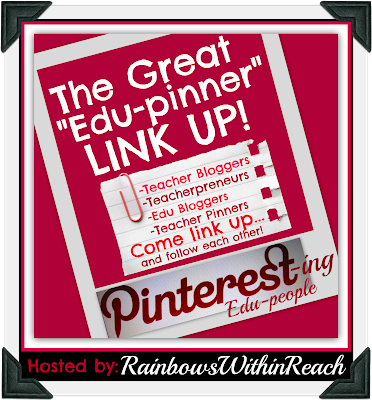 "photo of: Pinterest LinkUP of Educational ""Pinners"" hosted by RainbowsWithinReach"
